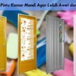 Tips Menjaga Pintu Kamar Mandi Agar Lebih Awet dan Tahan Lama