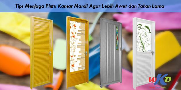 Tips Menjaga Pintu Kamar Mandi