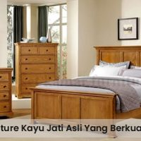 Ciri-Ciri Furniture Kayu Jati Asli