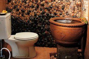 desain kamar mandi batu alam